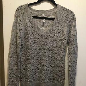 Womens gray sweater